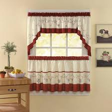 Tuscan Kitchen Curtains Valances by Chf U0026 You Grace Kitchen Curtains Set Of 2 Walmart Com