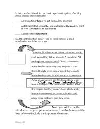 outline of argumentative essay Example in essay argumentative format apa of