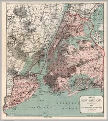 Street Map Of New York City by On This Day In Nyc History January 1st 1898 New York City