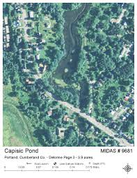 Map Of Portland Maine by Lakes Of Maine Lake Overview Capisic Pond Portland