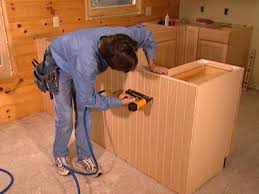 how to replace kitchen cabinets how tos diy