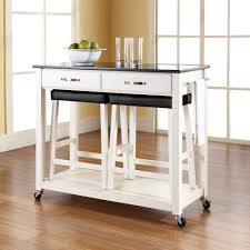 kitchen island on wheels with stools roselawnlutheran