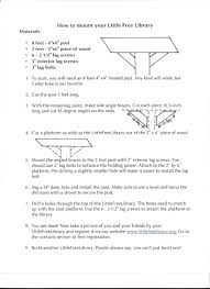 plans and tips for library builders little free library