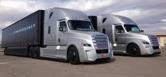 kenworth medium duty behind the wheel of freightliner u0027s inspiration autonomous truck
