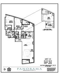 Vdara Panoramic Suite Floor Plan Panorama Floor Plans 2 Bedroom 3 Bath Panorama Towers Las Vegas