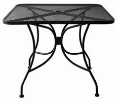 Mesh Patio Chair Amazon Com Oak Street Manufacturing Od3030 Square Black Mesh Top