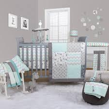 Nursery Room Theme Peanut Shell Uptown Giraffe 5 Piece Bedding Set Cot Bumpers