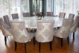 Large Dining Room Tables by Round Marble Dining Table Salvaged Wood U0026 Marble Beam Round