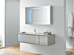 frame fr12 modular designer bathroom vanity in silver lacquer