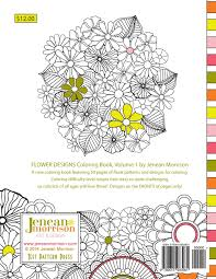 Designs by Flower Designs Coloring Book An Coloring Book For Stress