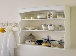 Bathroom Wall Shelving Ideas by Modren Bathroom Wall Storage Baskets A And Design Ideas