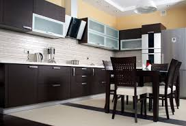 Aluminum Kitchen Backsplash Masculine Kitchen Design Featuring Black Mosaic Tiles Backsplash
