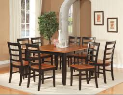 dining room perfect black and brown painted oak mission style