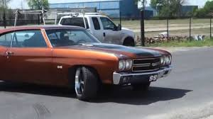 Custom Muscle Cars - 1970 chevy chevelle custom 502 ss muscle car youtube