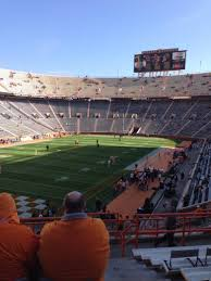 Neyland Stadium Map Neyland Stadium Interactive Seating Chart