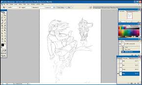 photoshop tutorial turn a sketch into a fantastic painting in