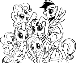 Coloring Ideas by Epic My Little Pony Coloring Pages 46 In Gallery Coloring Ideas