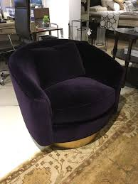 Swivel Chair Base Camino Swivel Chair With Gold Leaf Base Cadieux Interiors