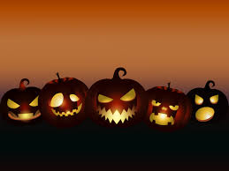 halloween backgrounds black cartoon games orange ppt 9267
