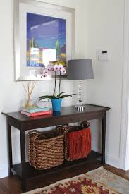 White Entryway Table by Inspiring Vintage Console Entryway Table Design With Brown