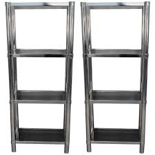 28 chrome bookshelves lucite bookcase etagere and chrome
