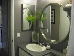 Bathroom Mirror Ideas On Wall Oval Bathroom Mirror Oval Bathroom Mirror Ideas Green Glass Tile