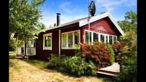 Small House Plans Cottage by This Is Little Red Cottage In Denmark Small House Design Youtube