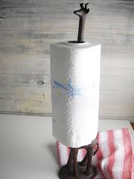 decorating interesting paper towel holder with wooden wall and