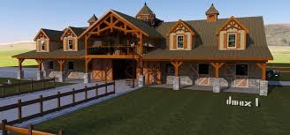 barn living quarters floor plans house plans