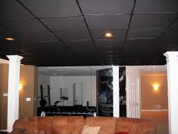 Black Ceiling Basement by Blacked Out Ceiling Projector Comparison Album On Imgur Black And