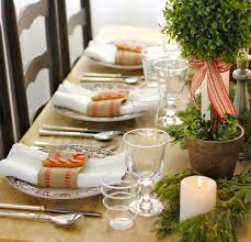 Black Blue And Silver Table Settings Furniture Design Table Setting Ideas For Christmas