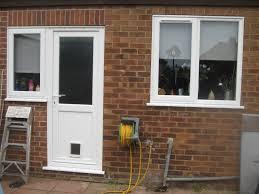 catflap in glass door back door with window btca info examples doors designs ideas