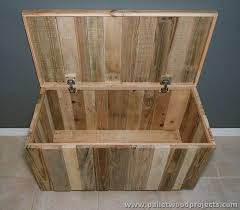 Plans For Making Toy Box by Recycled Pallet Storage Box Ideas Pallet Wood Projects