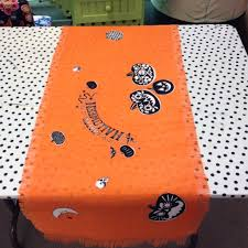 halloween table cloth decoration square dining table for halloween dark metal table