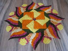 Flowers Home Decoration Decor Rangoli Decoration With Flowers Home Style Tips Wonderful