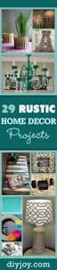 Idea For Home Decoration Do It Yourself 29 Rustic Diy Home Decor Ideas Diy Joy