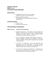 project management resume example sample resume assistant project manager frizzigame assistant project manager resume examples project manager resumes
