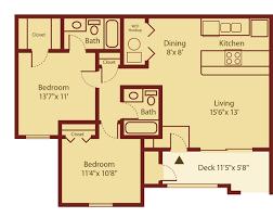 Two Bedroom Apartment Floor Plans Two Bedroom Apartment Floor Plans And Two Bedroom Apartment Floor