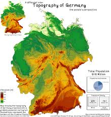 Detailed Map Of Germany by The Population Of Germany Views Of The World