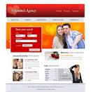 Valentine's Dating Agency Website Template | TemplatesBox Blog