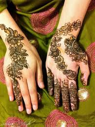 New Latest Eid Mehndi Style Fashion For Girls 2013