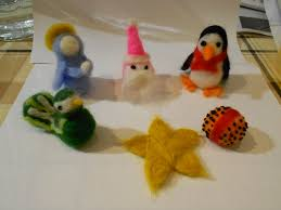 collection of felting christmas ornaments all can download all