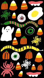 halloween cute background spooky pattern tap to see more creatively spooky halloween