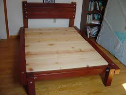 How To Build A Queen Platform Bed Frame by William D Mcquain