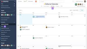 Recruiter Daily Planner Template Asana Calendar View Options Product Guide Asana