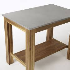 Wooden Kitchen Island Table Rustic Kitchen Island West Elm