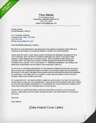 Cover Page For Job Resume by Professional Data Analyst Cover Letter Resume Genius