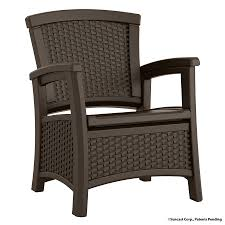 Wicker Resin Patio Furniture - shop suncast suncast elements java resin patio conversation chair