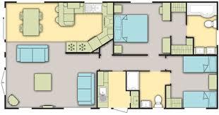 Caravan Floor Plan Layouts Par Sands Caravan And Lodge Hire Links