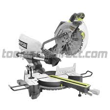 Bosch Table Saw Parts by Ryobi Tss102l 10 U201d Sliding Compound Miter Saw With Laser Parts